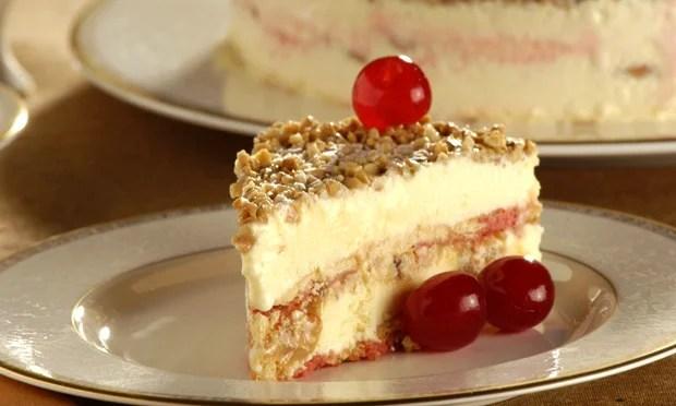 Receita de torta gelada de doce de leite