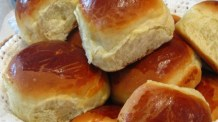 Pão de batata-doce, super fofinho e delicioso, perfeito para sanduíches e lanches