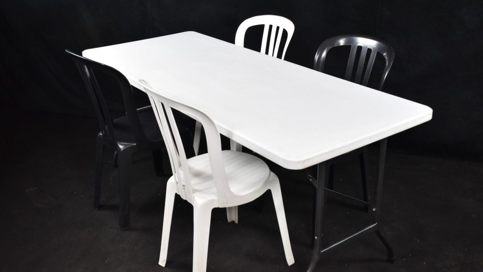 Table pliante PVC 180 x 80cm