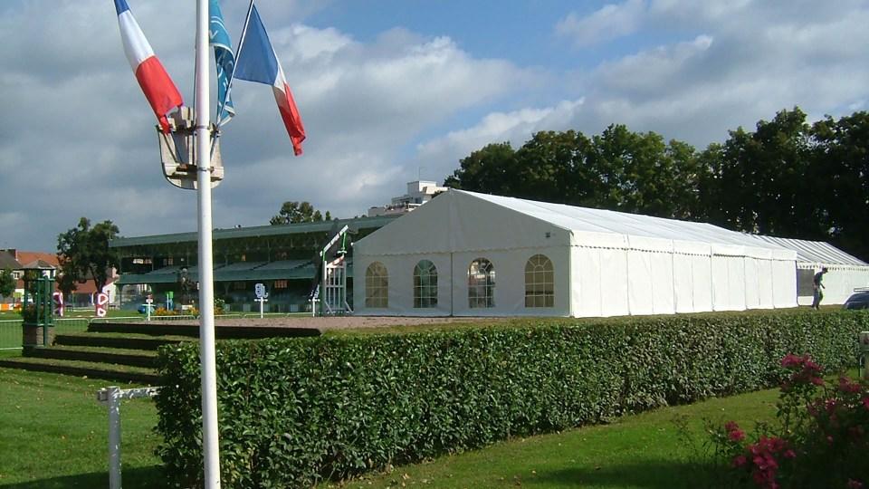 Espace d'accueil au Stade Hippique du Sichon à Vichy