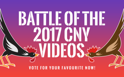 Battle of the 2017 CNY Videos