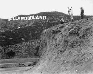 Original Hollywood sign