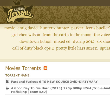 Kickass Torrents domain named seized, but the pirate site still lives?