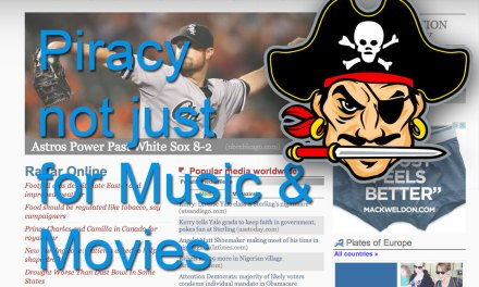 Online Journalism Victimized by Piracy Profiteers