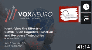 Identifying effects of Covid-19 on cognitive function video