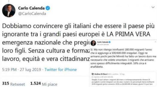 Risultati immagini per rula jebreal tweet contro gli italiani