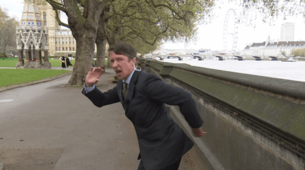 It seems Jonathan Pie has election fever.
