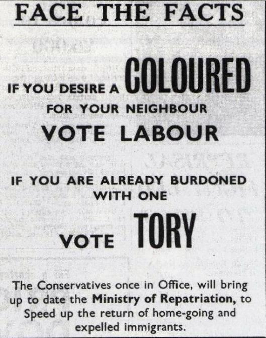 Divide and conquer: Conservative Party tactics haven't changed in more than 50 years - only the people they try to split.