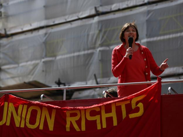 TUC General Secretary Frances O'Grady [Image: Getty].