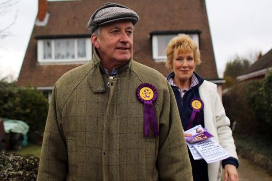 Neil Hamilton and wife Christine have been flung back into the political spotlight this week [Image: Getty Images].
