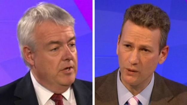 Strange comrades: Carwyn Jones (left) may yet become First Minister of Wales again - with help from UKIP's Nathan Gill (right).