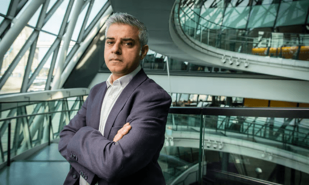 Sadiq Khan in City Hall, a week after his election as mayor of London [Image: David Levene for the Guardian].