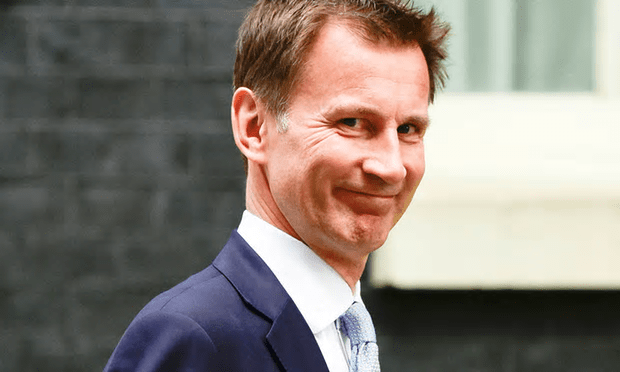 Nagpaul poured scorn on 'the repeated political mantra of 5,000 more GPs by 2020', which Jeremy Hunt, pictured, has promised to deliver in England [Image: Steve Back/Barcroft Images].