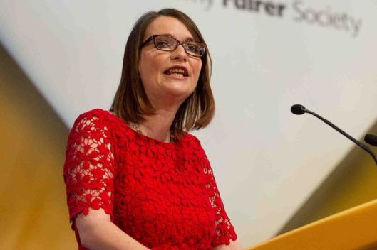 Kirsty Williams, the new Welsh cabinet secretary for Education.