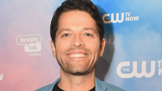 Misha Collins: This is probably the safest photograph to run with this article.