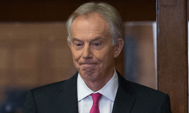 Tony Blair: He might look tight-lipped but when he opens his mouth, he's dangerous. [Image: Stefan Rousseau/PA.]
