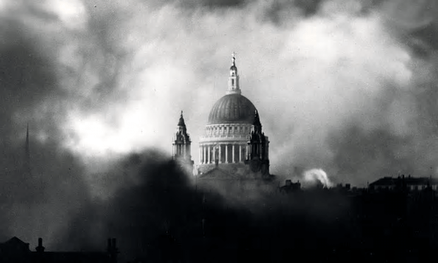 The Blitz. 'I slowly came to understand that other families were in a far worse case than us. Friends, fathers, brothers, uncles who had not come home or who had returned as ex-POWs.' [Image: Popperfoto/AN2.]