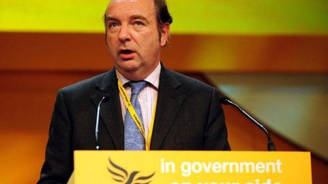 Former MP Norman Baker [Image: PA].