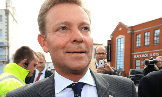 Craig Mackinlay: 'Following the shocking events of last Thursday, it is in the most appalling taste that I have received a death threat using social media ...' [Image: Gareth Fuller/PA].