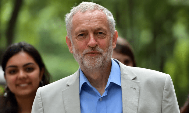 Jeremy Corbyn did not mention Owen Smith at all at his speech [Image: Carl Court/Getty Images].