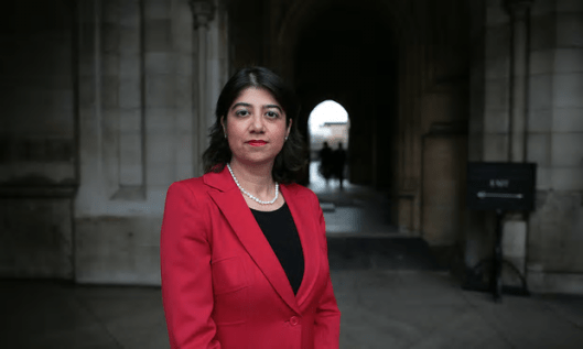 Seema Malhotra MP reckons there have been security breaches at her Westminster office. But it isn't her office any more. Why has she not vacated it? [Image: Martin Godwin for the Guardian]