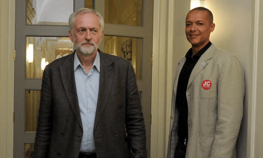 Jeremy Corbyn with Clive Lewis during last summer's Labour leadership campaign [Image: Albanpix Ltd/Rex Shutterstock].