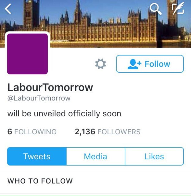 160813 Labour Tomorrow bought followers