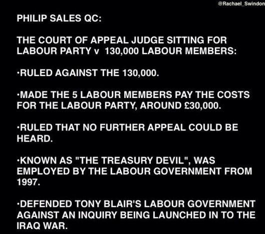 160813 appeal court judge Philip Sales QC