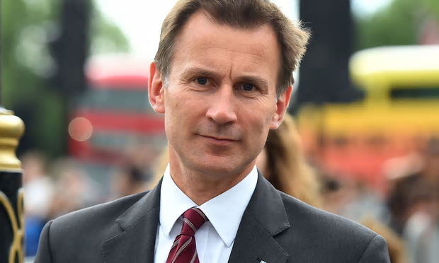 Some of Jeremy Hunt's most senior officials fear the promise of a £10bn increase to NHS budget by 2020 is not enough, the papers show [Image: Dominic Lipinski/PA].