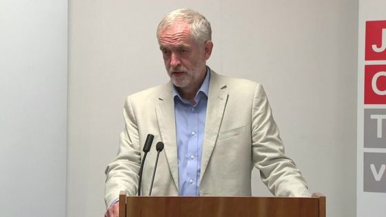Exasperated: Jeremy Corbyn thinks the future of the NHS is more important than quibbling over seat allocations on a train. This Blog agrees with him.