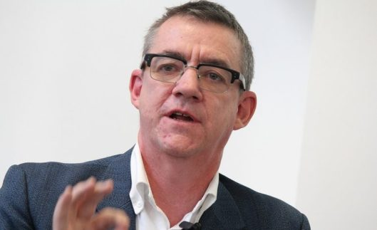 John McTernan, speaking at Policy Exchange in 2014. Isn't that a Tory think tank?