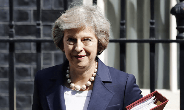 Theresa May has attempted to reassure Beijing over UK-China relations, despite the Hinkley nuclear power station holdup [Image: Frank Augstein/AP].