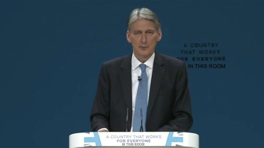Philip Hammond tells the Tory faithful they've been wrong for the last six years.