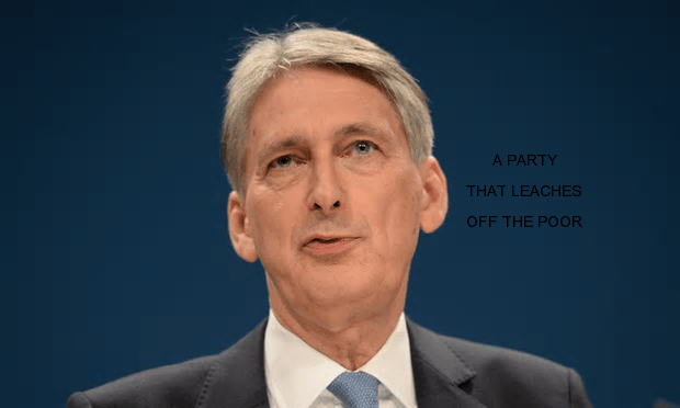 Philip Hammond has told Wall Street that the government's pro-business stance remains [Image: Stefan Rousseau/PA (slightly modified)].