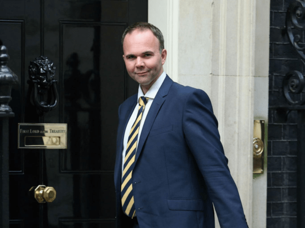 Tory housing minister Gavin Barwell. It may seem unlikely but he is following in the footsteps of the Nazis [Image: The Independent].