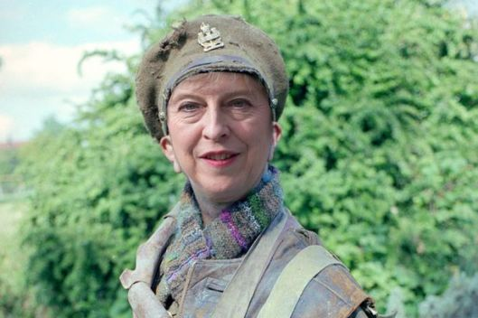 "Jeremy Corbyn likened Theresa May to Baldrick, saying her ""cunning plan"" was to have no plan at all [Image: Daily Mirror]."