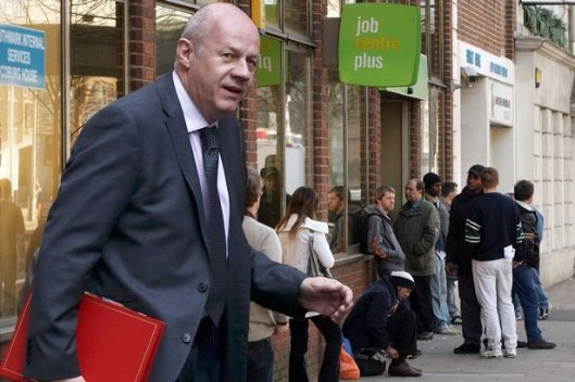 Damian Green: He should be a claimant at a Job Centre - not running them [Image: Getty].