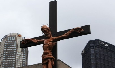 """Scary Jesus"" (Duquesne University)"