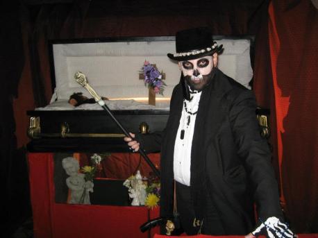 Wayne as Baron Samedi