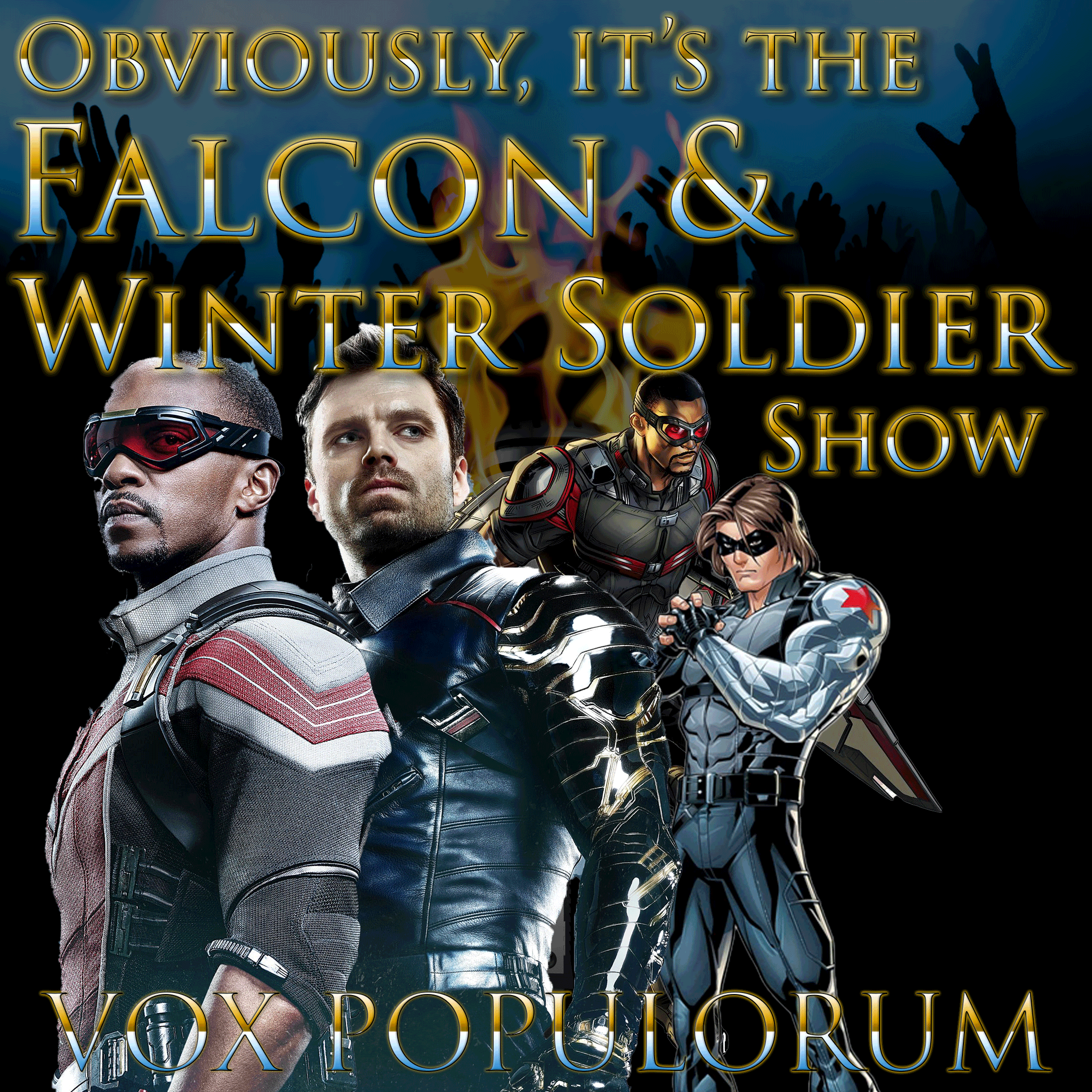 e159. Obviously, it's the Falcon and the Winter Soldier Show