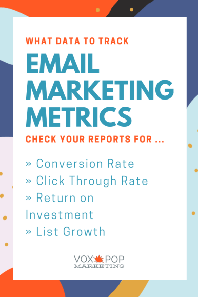 Email marketing metrics for small business
