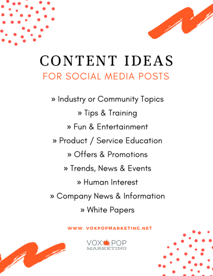 social media strategy plan content creation