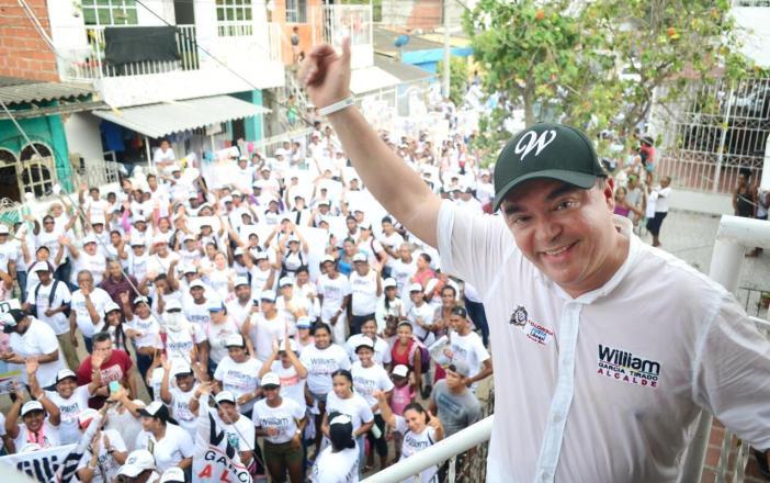 William García, virtual alcalde.