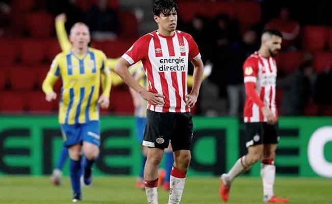 2-3: El PSV cae en la Copa ante un Segunda