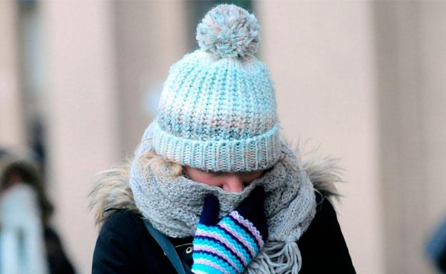 Nuevo frente frío provocará bajas temperaturas