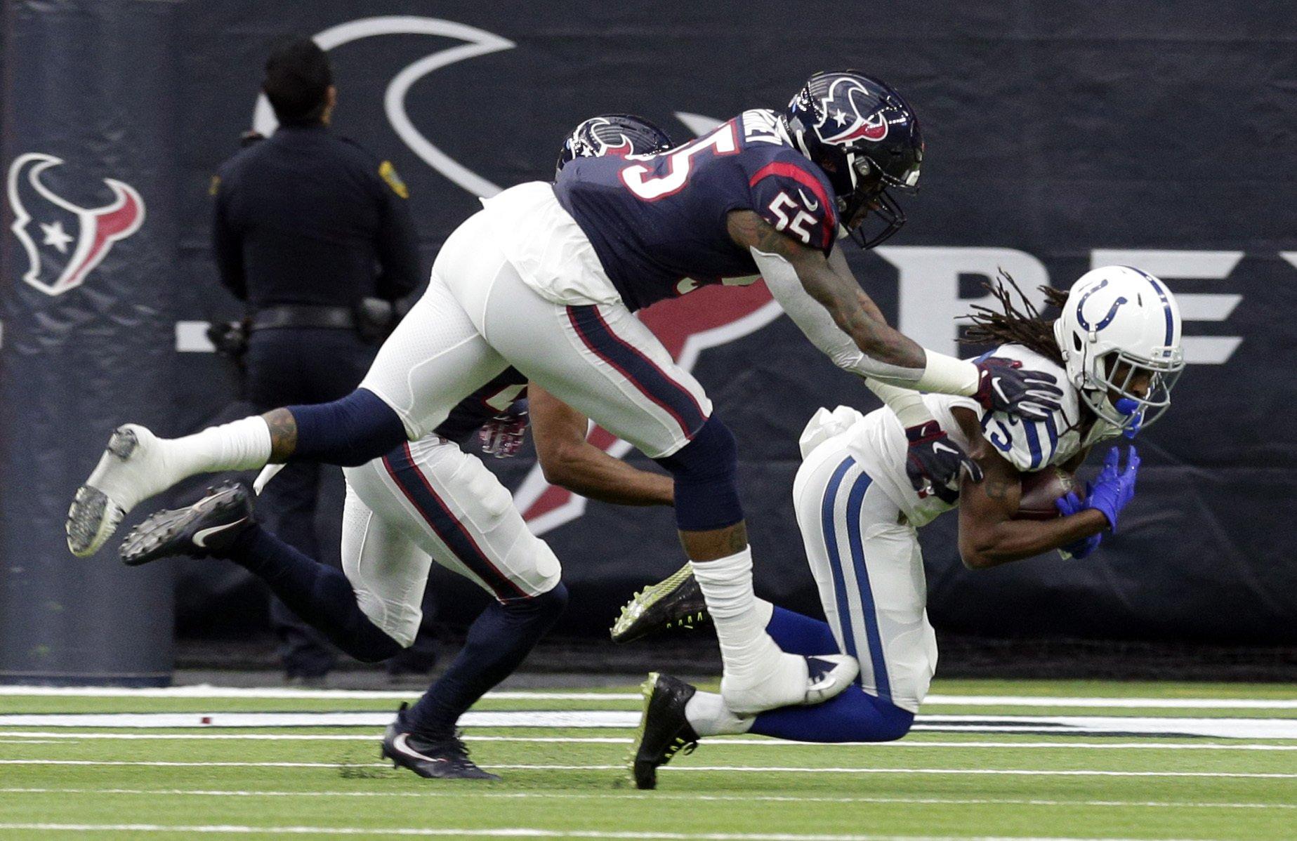 Colts vencen a Texans y avanzan a la Ronda Divisional — FINAL