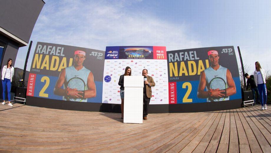 Nadal, Zverev y Anderson encabezan el 'field' del Abierto Mexicano de Tenis