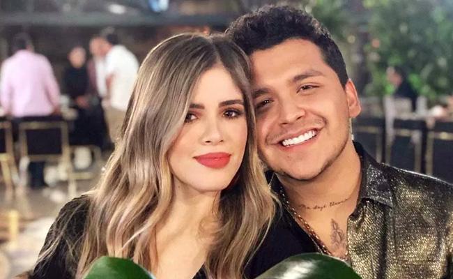 Christian Nodal termina su romance con María Fernanda Guzmán