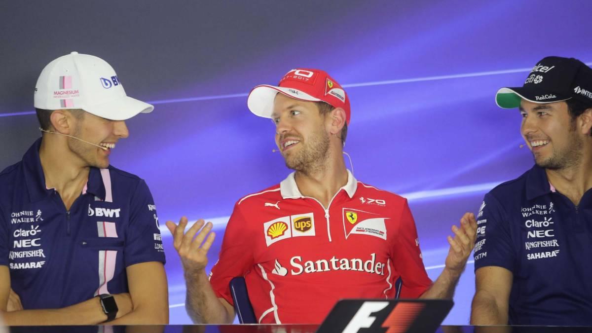 Fernando Alonso y Vettel, enemigos íntimos, luchan por pilotar el 'Mercedes Rosa'