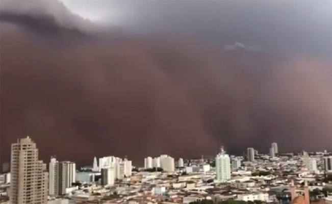 Video. Checa la impactante tormenta de arena que cubrió varias ciudades –  Vox Populi Noticias